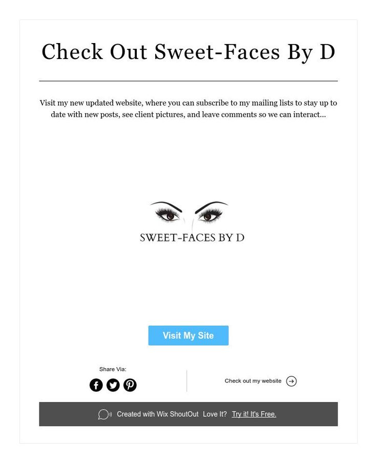 Check Out Sweet-Faces By D