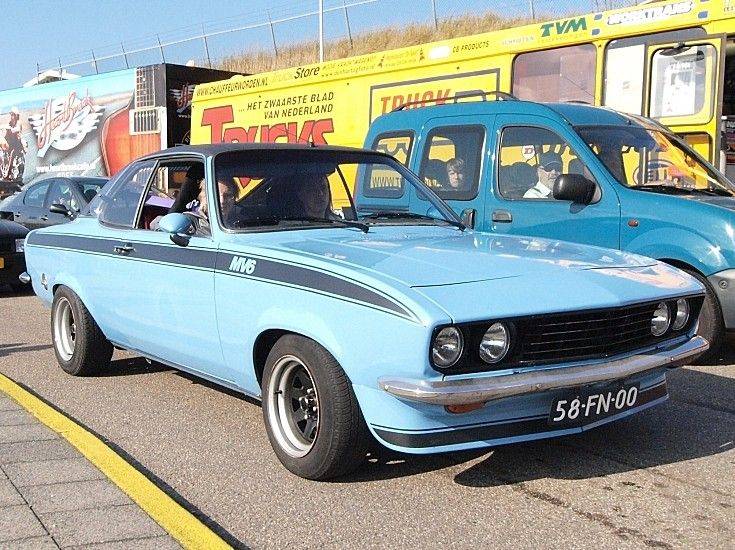 old vehicles | Classic and Vintage Cars - Opel Manta MV6 ?