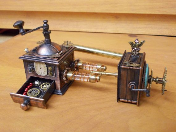 116 best dolls house steampunk miniatures images on pinterest - Spare time gadgets ...