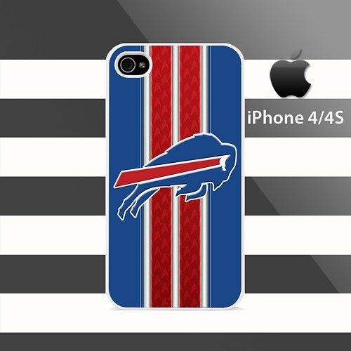 Buffalo Bills Patterns Stripes iphone 4 4s Rubber Case Cover