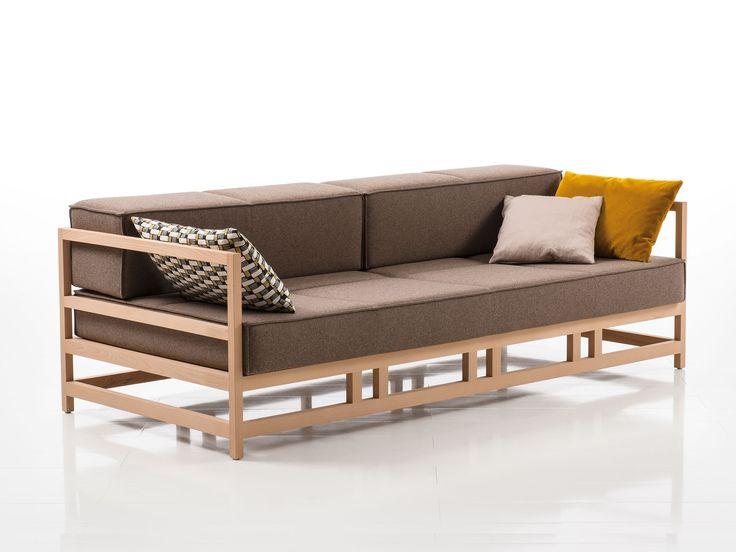 Fabric sofa EASY PIECES   Fabric sofa Easy Pieces Collection By brühl design Kati Meyer-Brühl