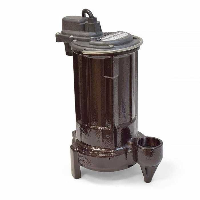 "Liberty Pumps 280 1/2 HP Manual Sump / Effluent Pump, 110V ~ 120V, 10"" cord"