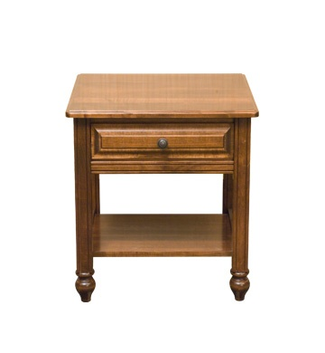 Wrightsville Single Drawer End Table
