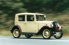 This was my 1934 Austin 10 restored 1982