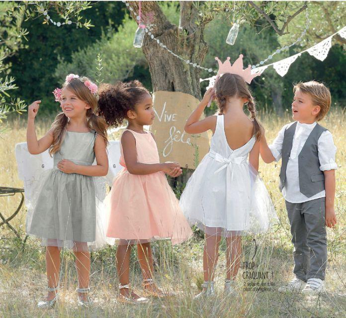 Tenues de mariage pour les enfants,se mettre sur son 31 sans se plier en 4 devient un jeu d'enfant avec vertbaudet