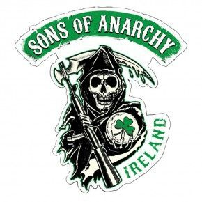 Sons of Anarchy Ireland Decal