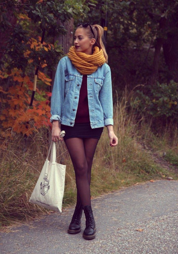 Kenza Zouiten with cotton bag from Beyond Retro!     Source: http://kenzas.se