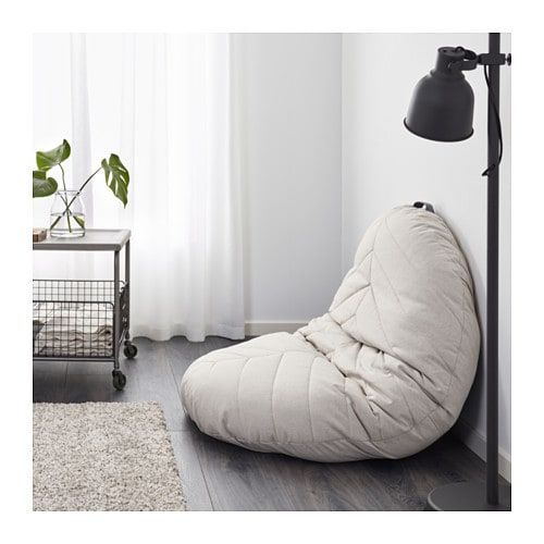 Marvelous Dihult Puf Katorp Natur Bornevaerelse Floor Pillows Machost Co Dining Chair Design Ideas Machostcouk