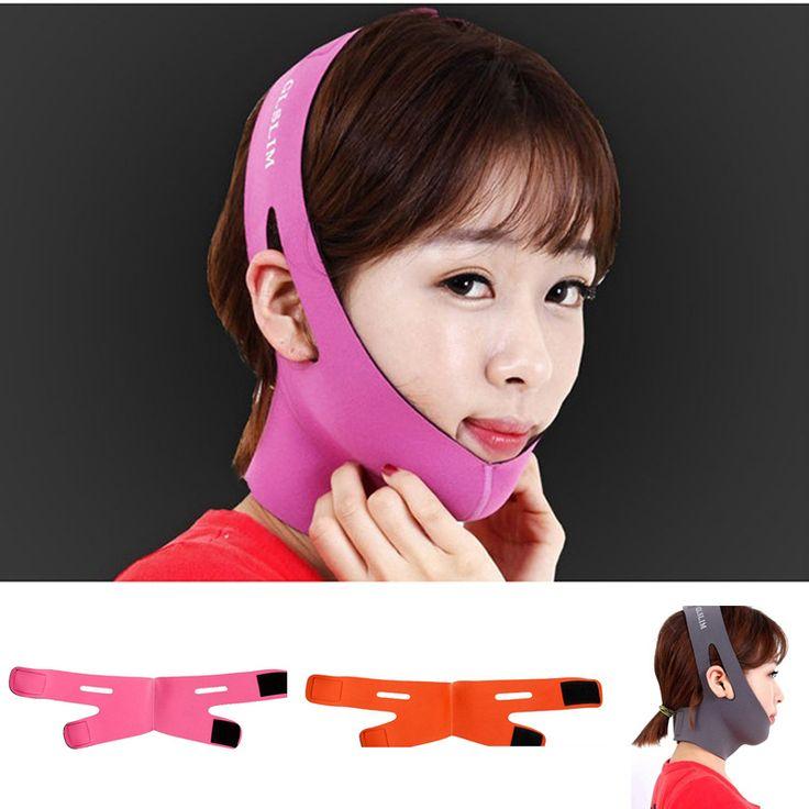 Korea Facial 3D V face Chin Shaping Mask Slimming Face-Lift Bandage Face Lift Up Belt Sleeping Mask Massage Skin Care Tools