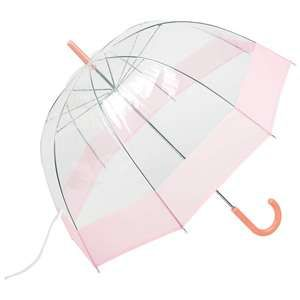 "Features hook handle and storage sleeve. Measures 42"" across and 32"" from tip to end of handle when closed. http://www.wholesalemart.com/Wholesale-Umbrellas-s/313.htm"