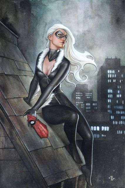 100 favorite female comic characters Black Cat