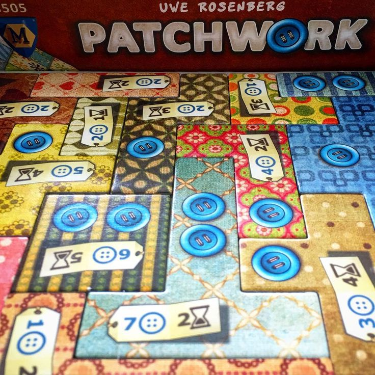 Finally got to play #Patchwork today. What a wonderful little game, such clever composition and mechanism. Definitely one for people wanting a good 2player only title. Thank you #uwerosenberg and @mayfairgames love it! #tabletop #tabletopgame #tabletopgamer #tabletopgames #tabletopgamers #boardgame #boardgamer #boardgames #boardgamers #boardgamegeek #bgg #JuegosDeMesa #Brettspiele #brettspiel #gameday #quilting #buttons