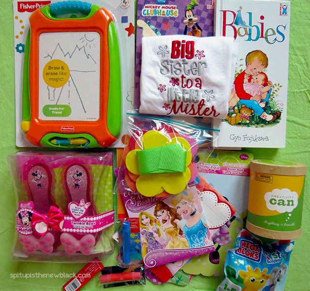 Big Sister Hospital Bag Goodies She Is Having A Baby