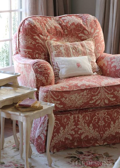 14 best images about overstuffed furniture on pinterest for Comfy armchair with ottoman