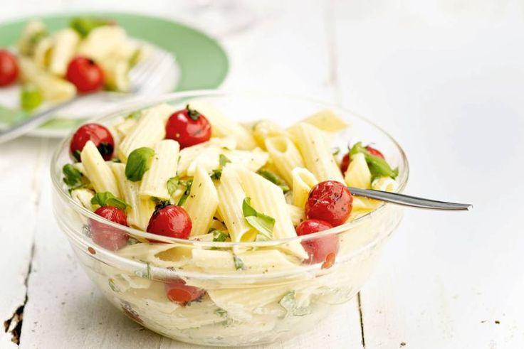 Kijk wat een lekker recept ik heb gevonden op Allerhande! Barbecue-pastasalade