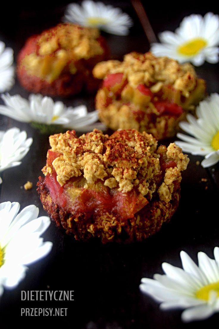 Jutro wspaniałe święto – Dzień Matki:) z tej okazji przygotowałam przepis na pełnoziarniste kruche fit ciastka z rabarbarem i kruszonką. Będzie smacznie i zdrowo:) Sezon na rabarbar trwa, wię…