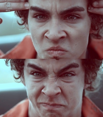"""""""Yeah so my mum opens the door and she's like 'Ahhhhh' and I'm like 'I'm Immortal!'"""" - Nathan Young, Misfits"""