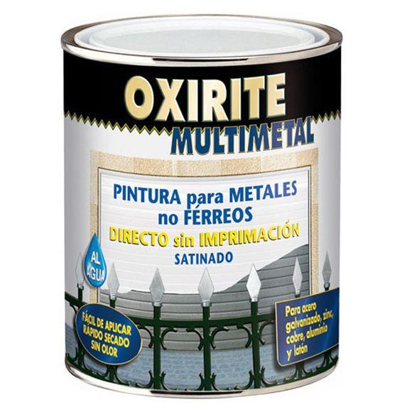 Para el aluminio de fachada, directa sin imprimación ni lijado. 16,95€ 0,75l