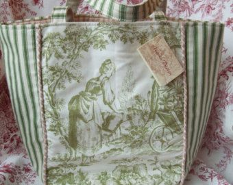 Items similar to SOLD! Vintage Laura Ashley French Country Market ...
