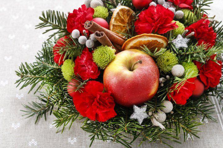 Immagini Natale E Capodanno.Centrotavola Di Natale E Capodanno 5 Idee Con Fiori Freschi E