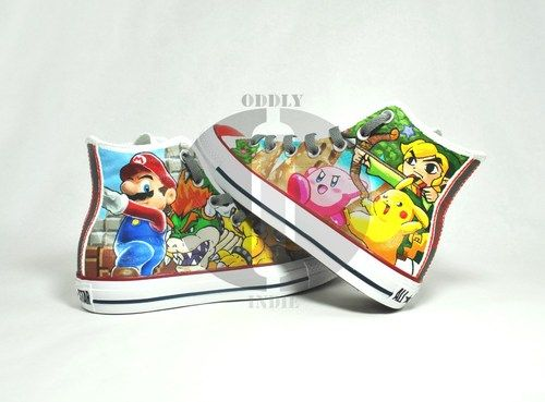 Super Smash Bros Brawl Hand Painted