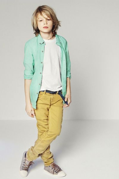 Zara Boys Lookbook    I think I'm going to grow my son's hair out again looks so cute here!