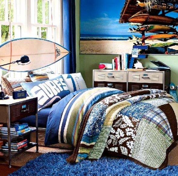 Image detail for Cool Teenage Boy Bedroom Design New