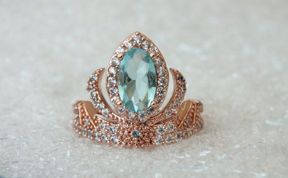 Hey, I found this really awesome Etsy listing at https://www.etsy.com/listing/220922210/rose-gold-elsa-princess-tiara-ring-anna