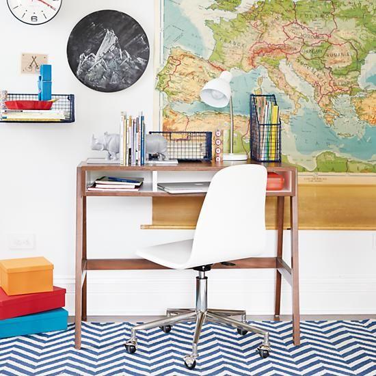 Prairie School Desk (Walnut)  | The Land of Nod