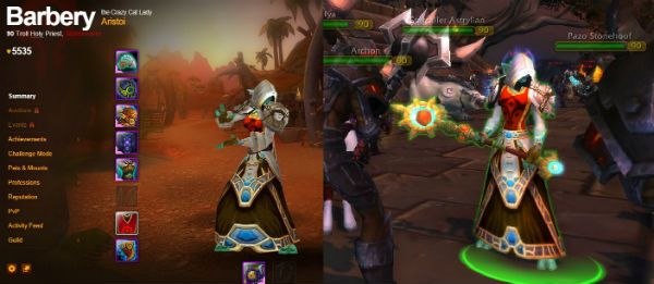 A lot of the Warlords of Draenor NPCs are real toons http://wtbgold.blogspot.com/2014/09/is-your-toon-warlords-of-draenor-npc.html