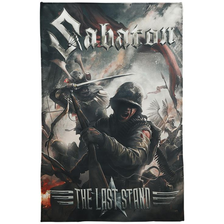 The Last Stand - Flag by Sabaton