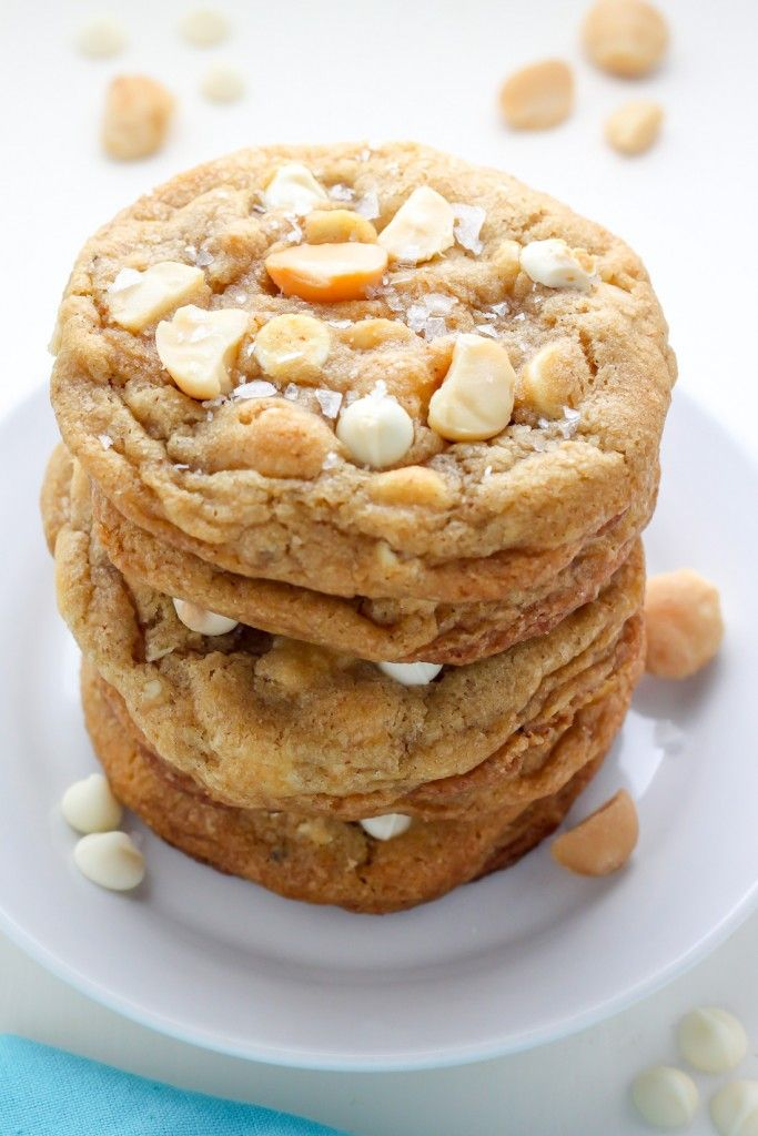 Brown butter white chocolate macadamia nut cookies for White chocolate macadamia nut cookies recipe paula deen