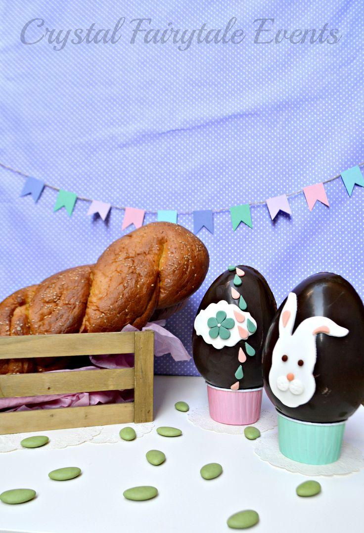 Vegan Easter treats! #vegan #chocolateegg #vegandesserts #veganeaster