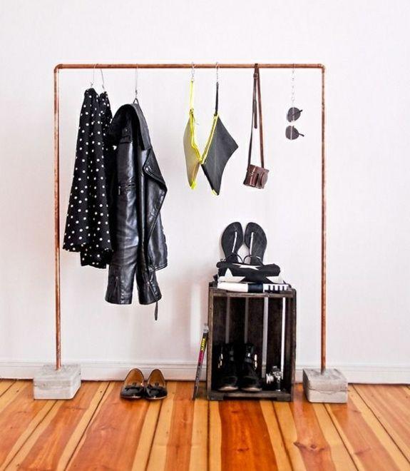 diy möbel bastelideen kleiderständer selber bauen