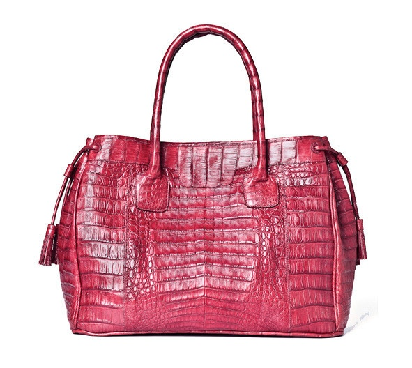 Posh #crocodile #bag.  Handmade in Colombia. $2000