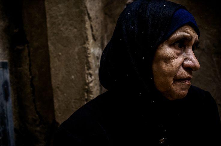 Campo de refugiados palestinos Borj Barajneh, em Beirute, Líbano.