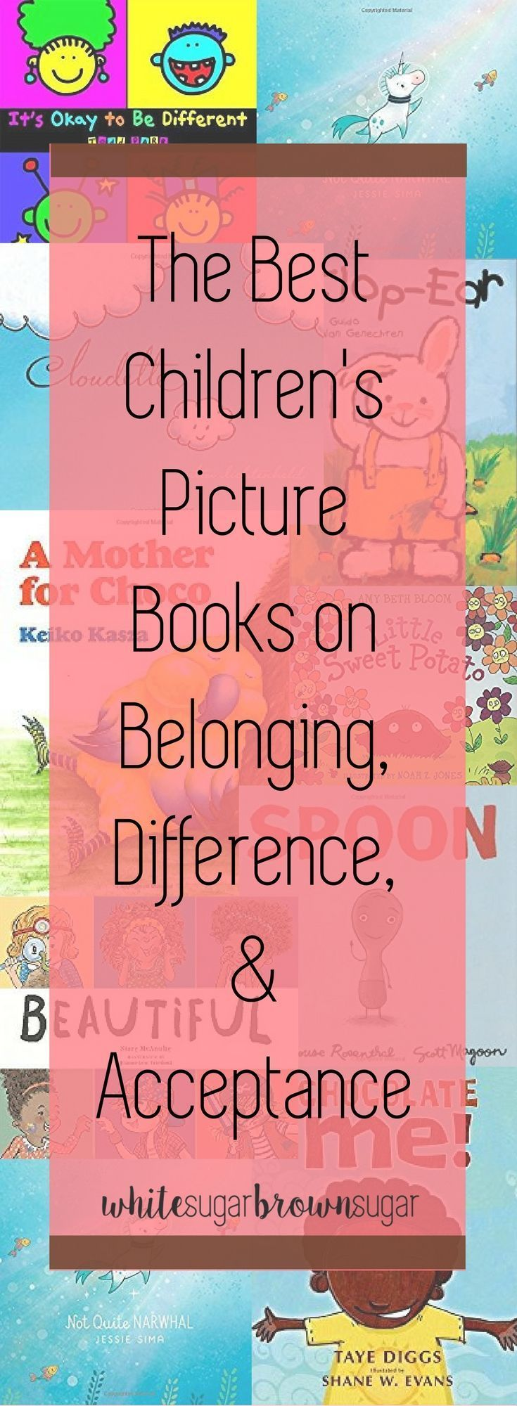 Books about color for kids - Books For Children Of Color Books On Acceptance Books About Being Different Books