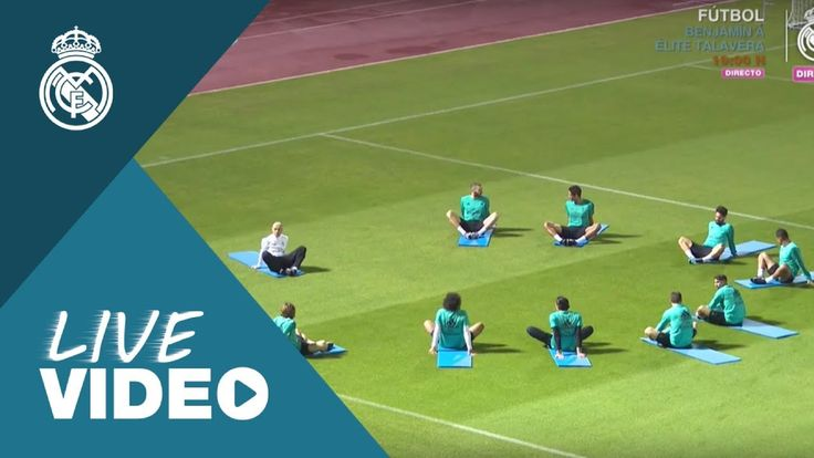 Youtube Real Madrids third training session in Abu Dhabi!