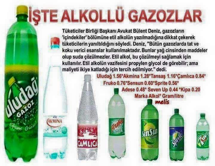 Alkollü gazozlar