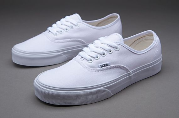 Vans Trainers - Vans Authentic - Mens Trainers - Vans Trend - True White