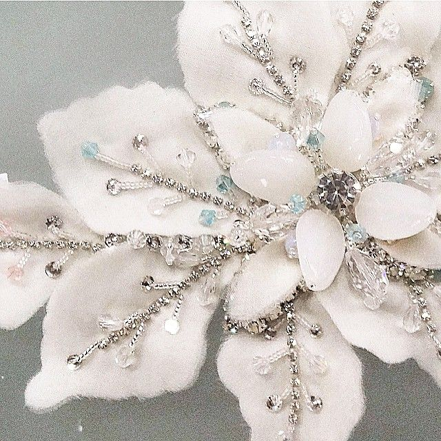 HAPPY EASTER! Sneak peek. Handmade detailing. Azzaria Haute Couture by Zara xx…