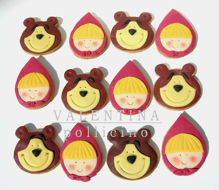Masha and the Bear cookies