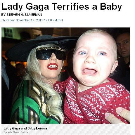 Lady Gaga Scary pics...