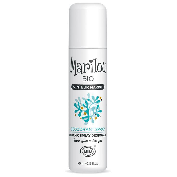 MARILOU BIO Dezodorant w sprayu z algami - Nieprzyzwoicie naturalny sklep dla kobiet lubiących siebie