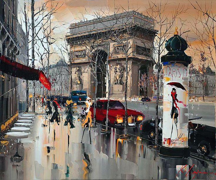 Kal GAJOUM 01 / 02 (Paris, l'Arc de Triomphe) Kal GAJOUM né à Tripoli (Liban) en 1968