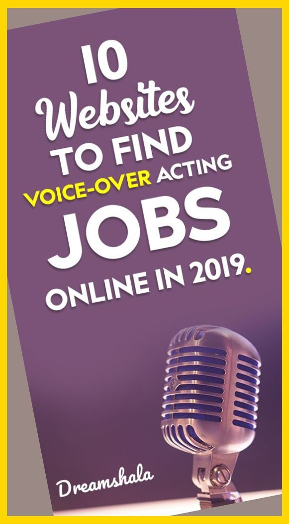 10 Websites To Find Voice Over Acting Jobs Online In 2019 Voice Over Jobs Voice Acting O Online Jobs Voice Acting Career The Voice