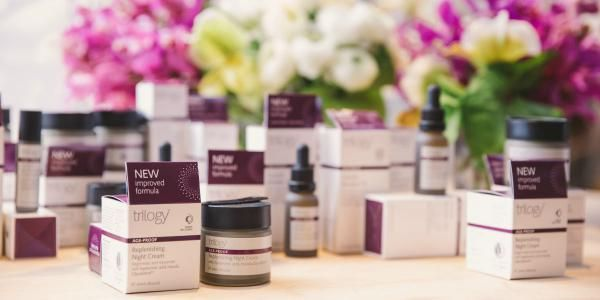 A sneak-peek at Trilogy's reformulated Age-Proof range, at the media event in Sydney.