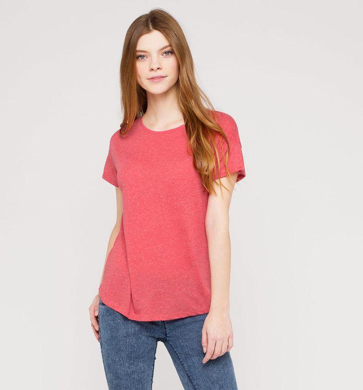 Damen Leichtes T-Shirt in rot - Mode günstig online kaufen - C&A