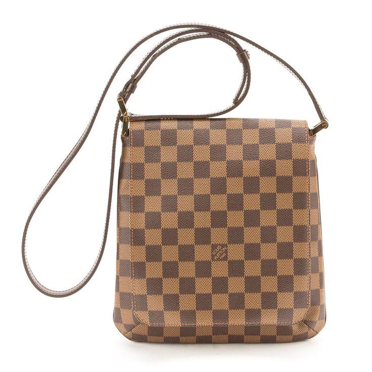 Louis Vuitton Damier Ebene Musette Salsa PM Long Strap (Authentic Pre Owned)