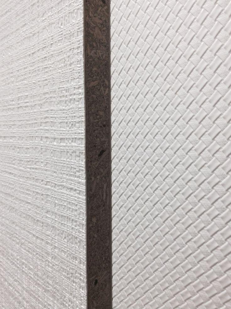 Prospettiva di pannelli in finitura per arredamento collezione Texture.